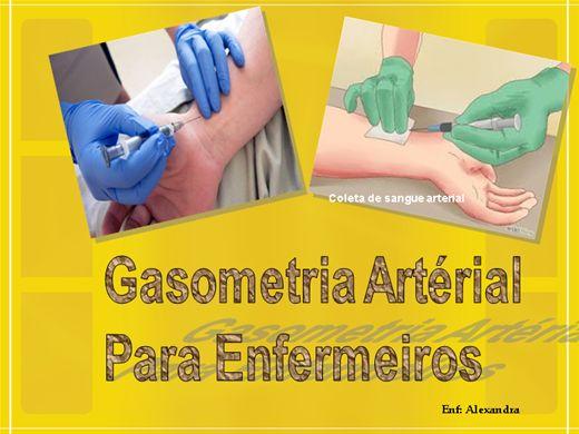 Curso Online de Gasometria Arterial para Enfermeiros