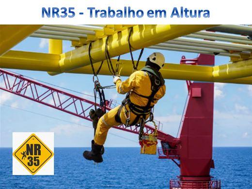Curso Online de NR35 - Trabalho em Altura