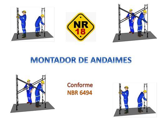 Curso Online de Montador de Andaime