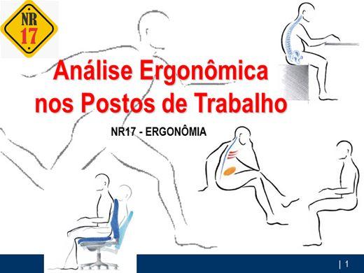 Curso Online de AET - Análise Ergonômica nos Postos de Trabalho