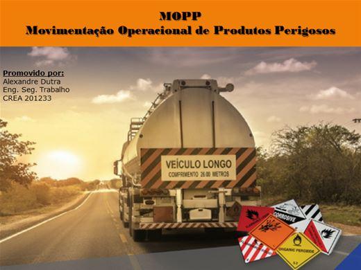Curso Online de MOPP - Movimentação Operacional de Produtos Perigosos