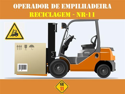 Curso Online de RECICLAGEM PARA OPERADOR DE EMPILHADEIRA