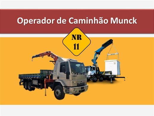 Curso Online de NR 11 - Operador de Caminhão Munck