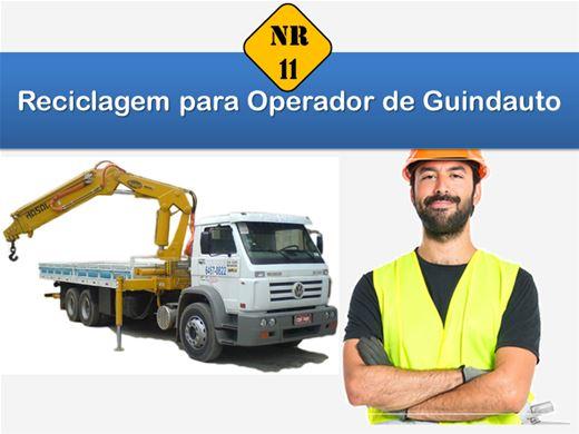 Curso Online de Reciclagem para Operador de Guindauto