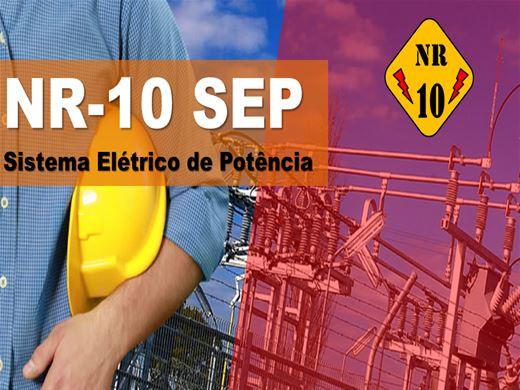 Curso Online de NR 10 SEP - Segurança no Sistema Elétrico de Potência
