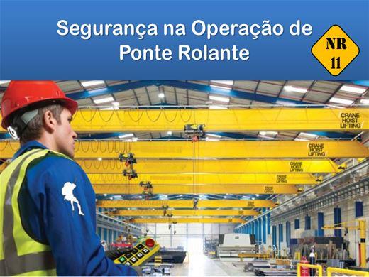 Curso Online de NR11 - Segurança na Operação de Ponte Rolante