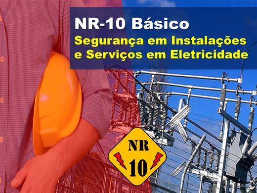 Curso Online de NR 10 Básico - Segurança em Instalações e Serviços em Eletricidade