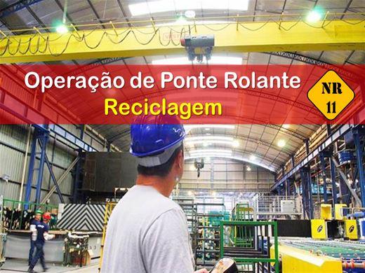 Curso Online de OPERAÇÃO DE PONTE ROLANTE - RECICLAGEM
