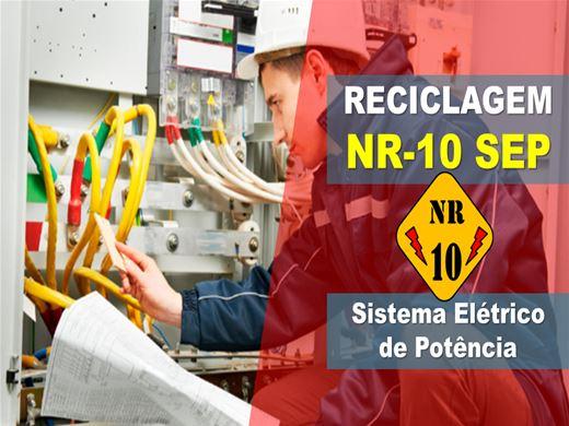 Curso Online de NR-10 SEP Sistema Elétrico de Potência - RECICLAGEM