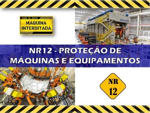 Curso Online de NR12 - PROTEÇÃO DE MÁQUINAS E EQUIPAMENTOS