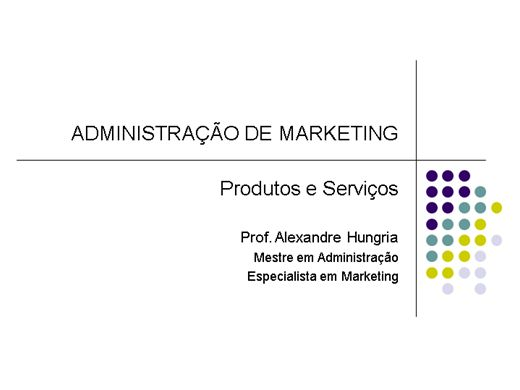 Curso Online de MARKETING - HIERARQUIA DE PRODUTOS E MARCAS