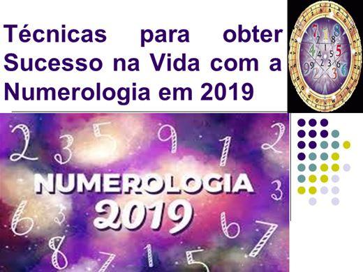 Curso Online de Técnicas para obter Sucesso na Vida com a Numerologia em 2019