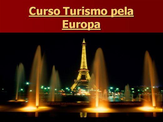 Curso Online de Turismo pela Europa