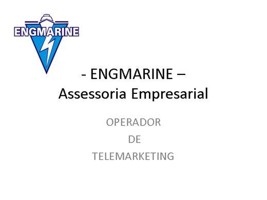 Curso Online de OPERADOR DE TELEMARKETING