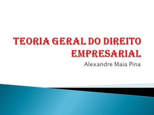 Curso Online de INTRODUÇÃO AO ESTUDO DO DIREITO EMPRESARIAL