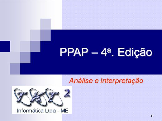 Curso Online de PPAP 4º EDIÇÃO