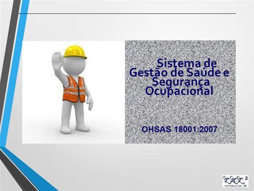 Curso Online de OHSAS 18001 - SISTEMAS DE GESTÃO DA SAÚDE E SEGURANÇA OCUPACIONAL