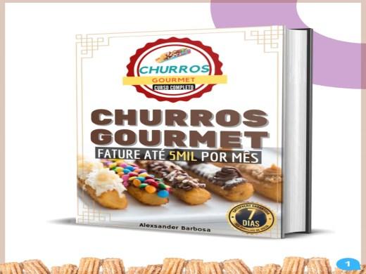 Curso Online de Churros Gourmet e Receitas Completo - Tenha uma Renda Extra Agora + Vídeo Aulas Bônus