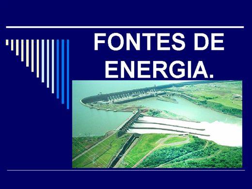 Curso Online de FONTES DE ENERGIA