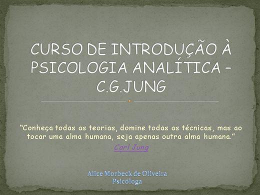 Curso Online de Curso de Introdução à Psicologia Analítica - Jung