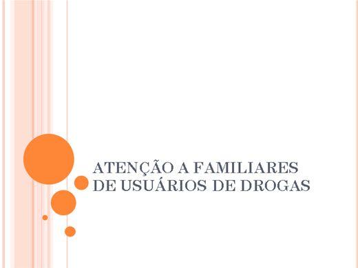 Curso Online de Atenção aos familiares de usuário de Drogas