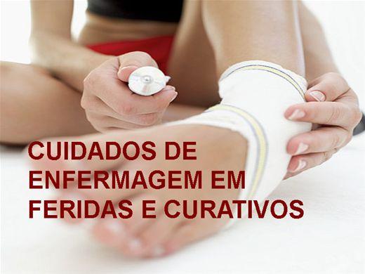 Curso Online de CUIDADOS DE ENFERMAGEM EM FERIDAS E CURATIVOS
