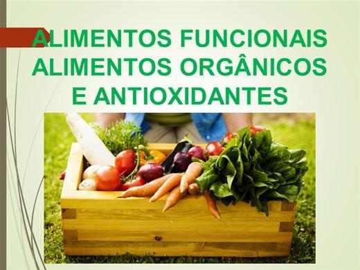Curso Online de Alimentos Funcionais, Alimentos Orgânicos e Antioxidantes