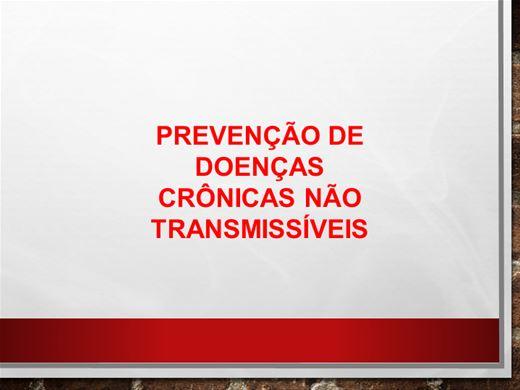 Curso Online de Prevenção de Doenças Crônicas Não Transmissíveis