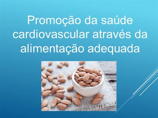 Curso Online de Promoção da saúde cardiovascular através da alimentação adequada
