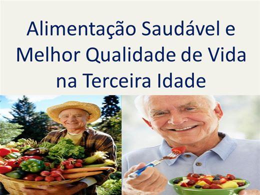 Curso Online de Alimentação Saudável e Melhor Qualidade de Vida na Terceira Idade