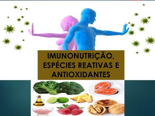 Curso Online de Imunonutrição, Espécies Reativas e Antioxidantes