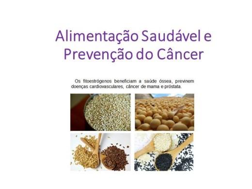 Curso Online de Alimentação Saudável e Prevenção do Câncer
