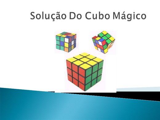 Curso Online de Solução Do Cubo Mágico