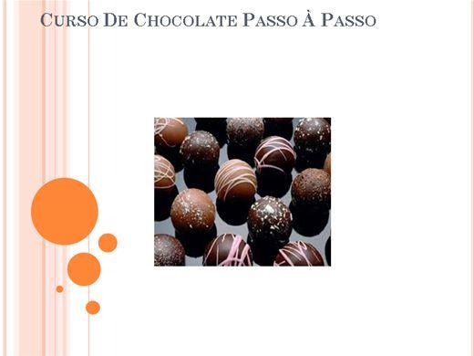 Curso Online de Curso de Chocolate Passo à Passo