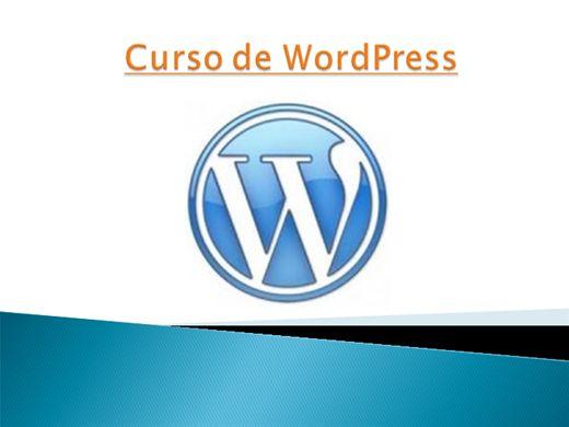 Curso Online de Curso de WordPress