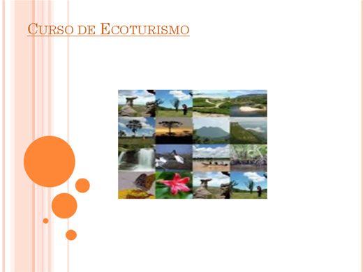Curso Online de Curso de Ecoturismo