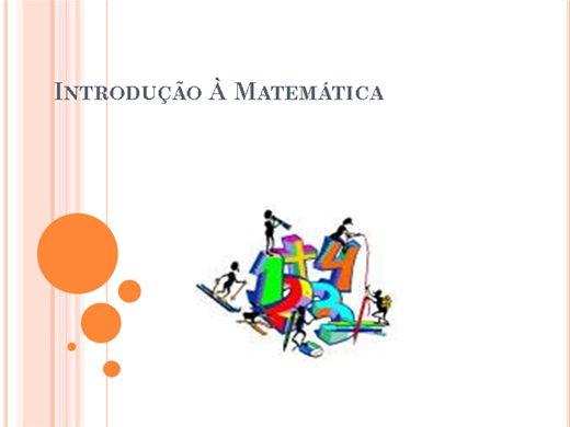 Curso Online de Introdução à Matemática