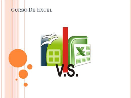 Curso Online de Curso de Excel