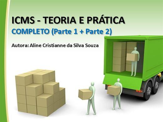 Curso Online de ICMS - Teoria e Prática - Completo (Parte 1 + Parte 2)