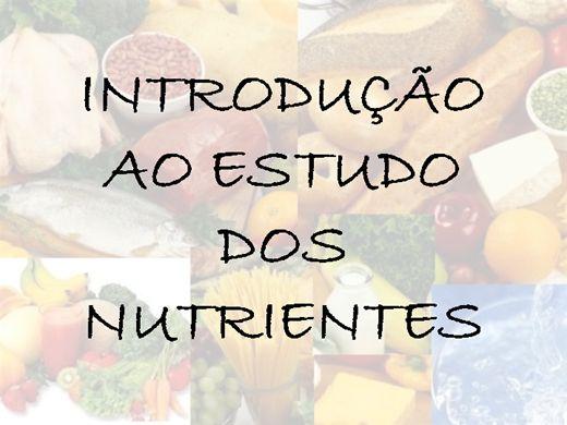Curso Online de Introdução ao Estudo dos Nutrientes