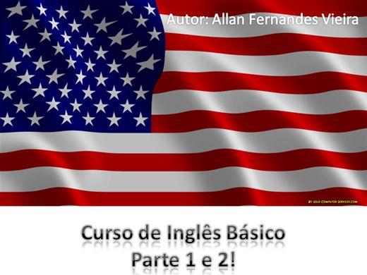 Curso Online de Curso de Inglês Básico - Parte 1 e 2