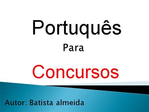 Curso Online de Portuquês Para Concursos