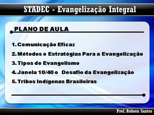 Curso Online de Evangelismo Integral - Evangelizando Pessoas e Ganhando Vidas