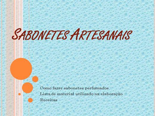 Curso Online de SABONETES ARTESANAIS