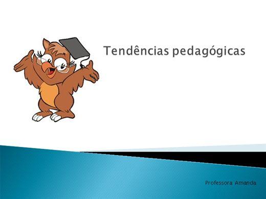 Curso Online de Tendências Pedagógicas