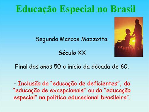 Curso Online de Educação Especial no Brasil