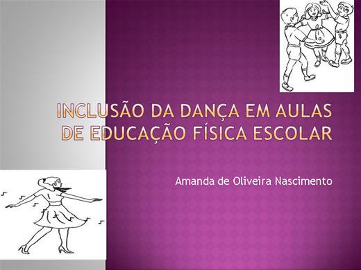 Curso Online de Inclusão da dança em aulas de Educação Física escolar.