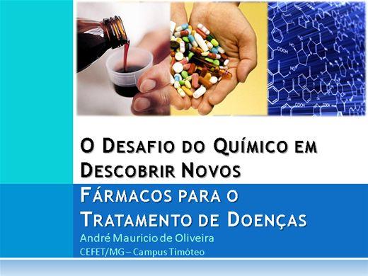 Curso Online de O Desafio do Químico em Descobrir Novos Fármacos