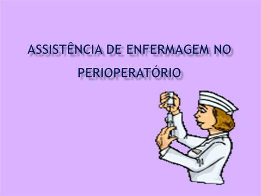 Curso Online de Assistência de Enfermagem ao paciente que sera submetido a procedimento cirúrgico.