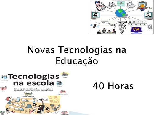 Curso Online de Novas Tecnologias na Educação